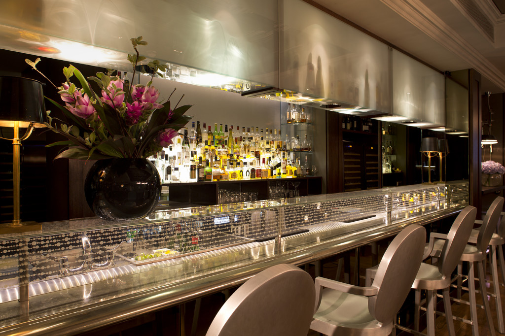 The Bar Closeup, The Arch London.  Photography must be credited to The Arch London