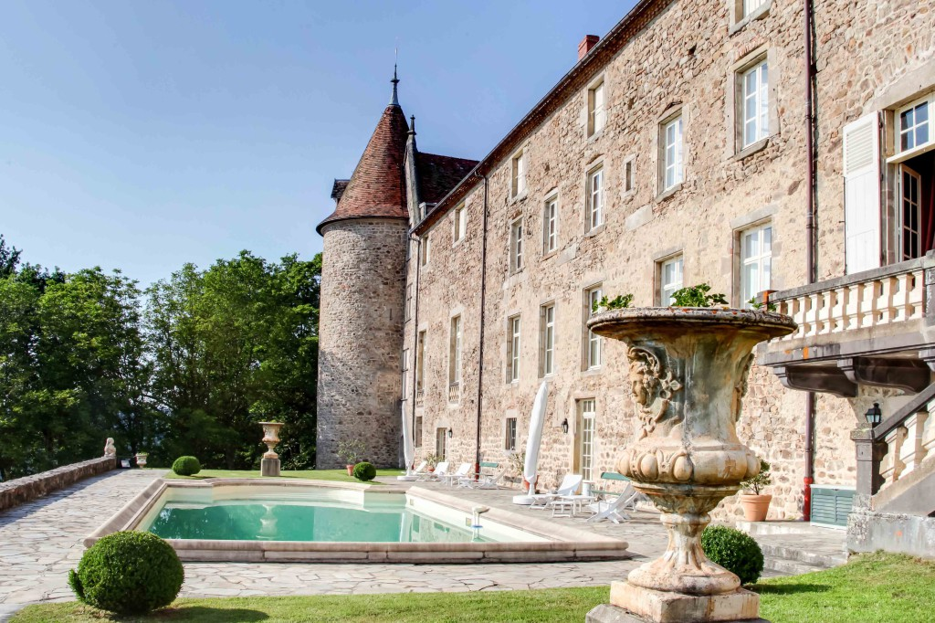 Chateau de Vollore facade@ChateauxetHotelsCollection