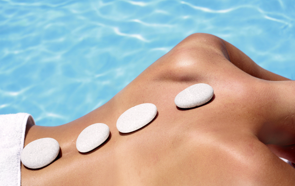 Ibiza massage by the pool- private Health club