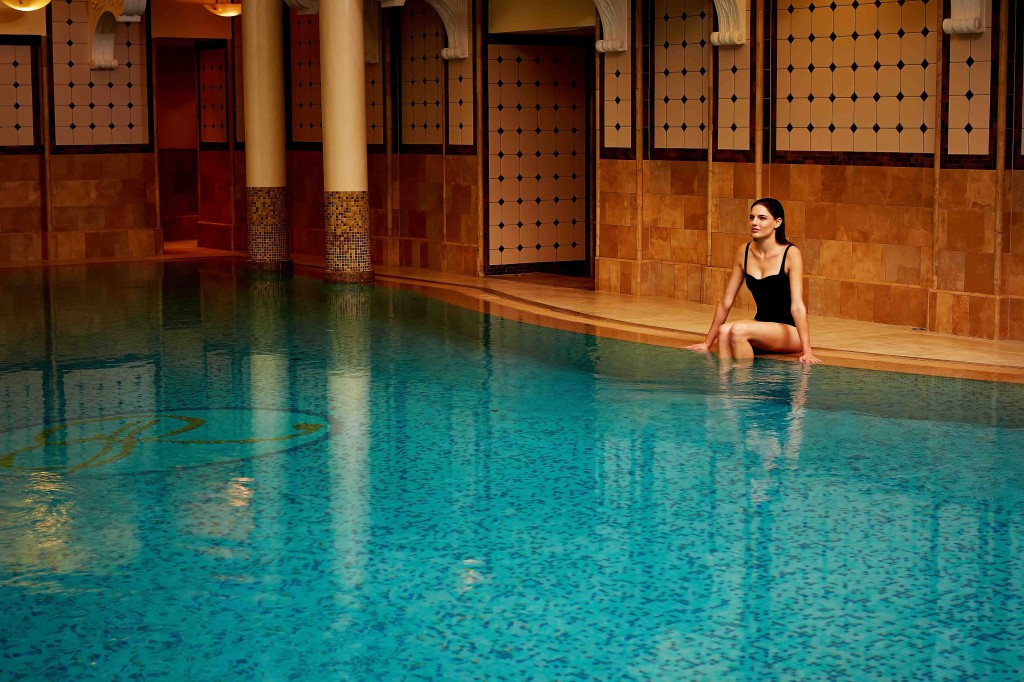 Royal spa pool corinthia Brudapest