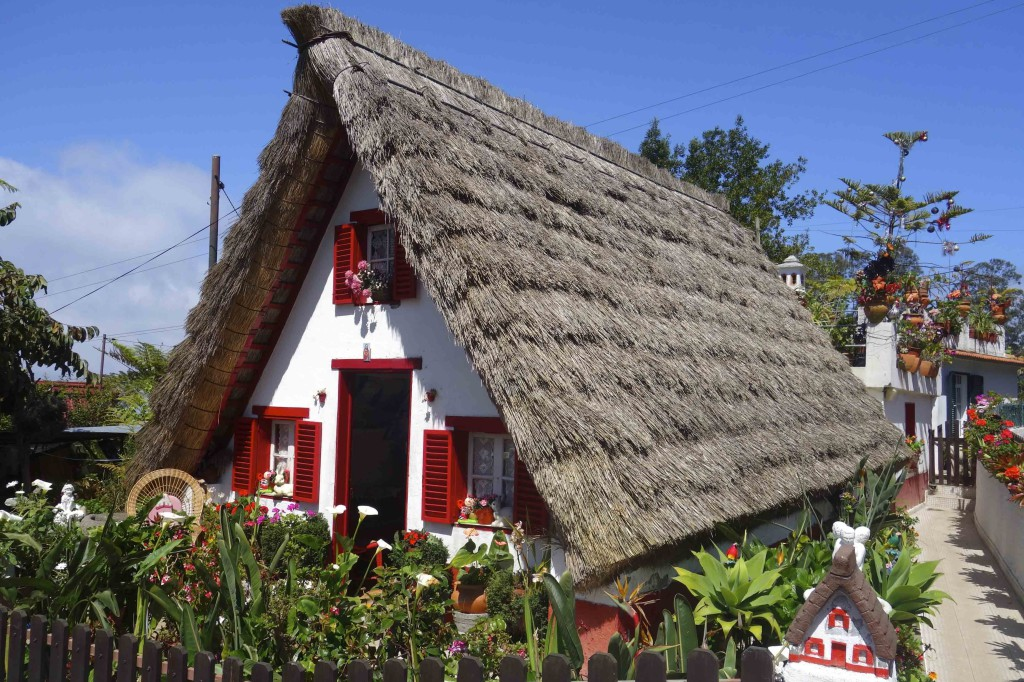 Madeira north traditional house