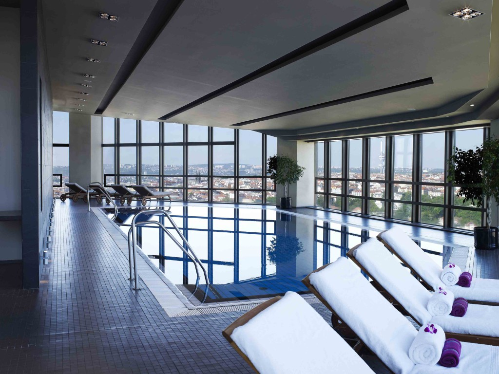 Corinthia hotel Prague Indoor Pool