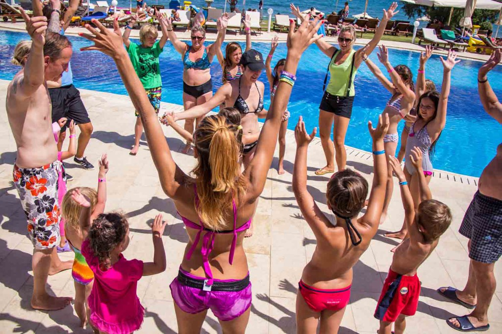 Kiani beach resort activity kids, Chania