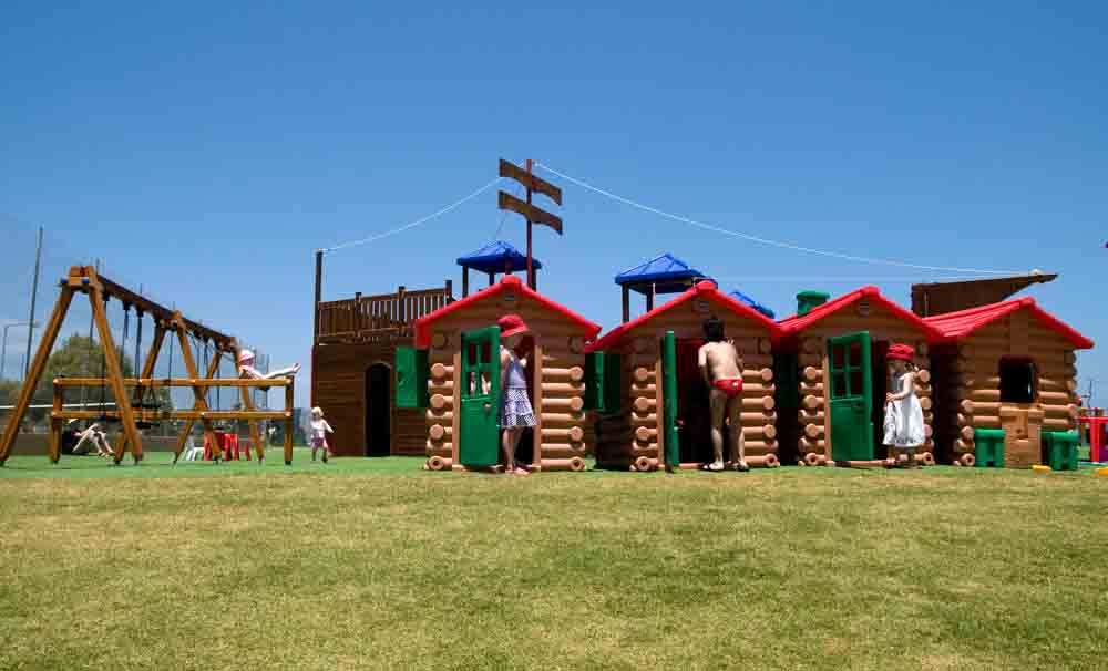 Kiani beach resort children playground, Chania