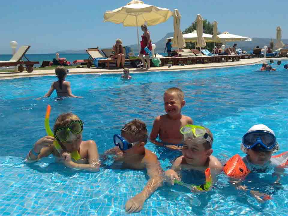 Kiani beach resort swimming pool, Chania
