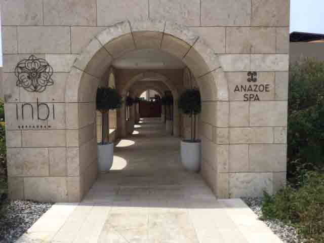 Costa Navarino Anazoe Spa entrance