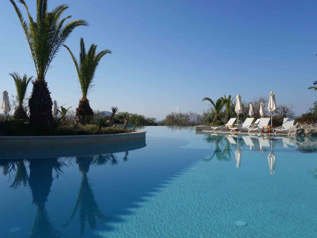 Costa Navarino pools