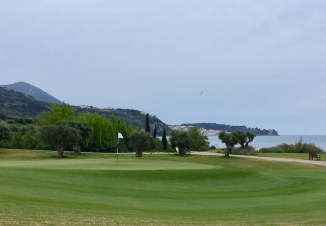 The Bay Course green landscape