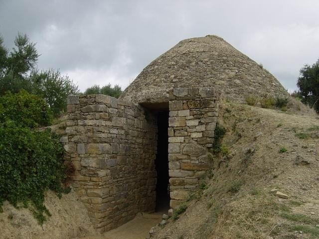 Vaulted Tombs Messinia Greece