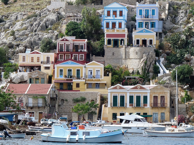 view of Symi island