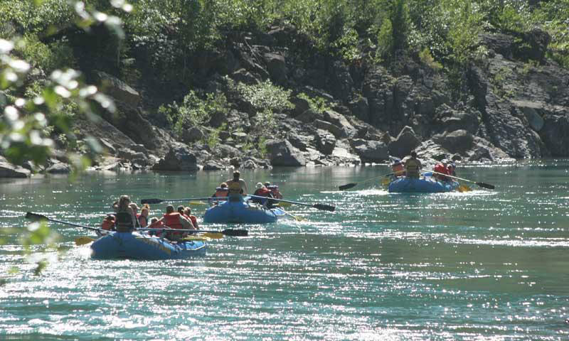 rafting-in-glacier-national-park